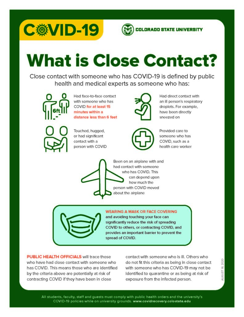 close contact printable graphic