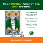 Wash your hands - Cam the Ram