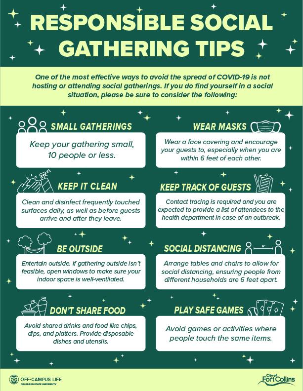 Social Gathering Tips